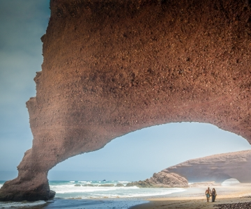 Explore Arches at Nearby Beach