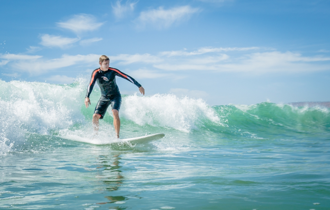Surf Lessons Available from Local Surf Shops