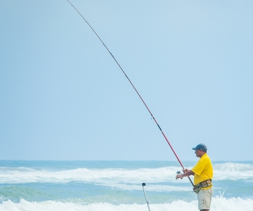 Enjoy Fishing From The Beaches
